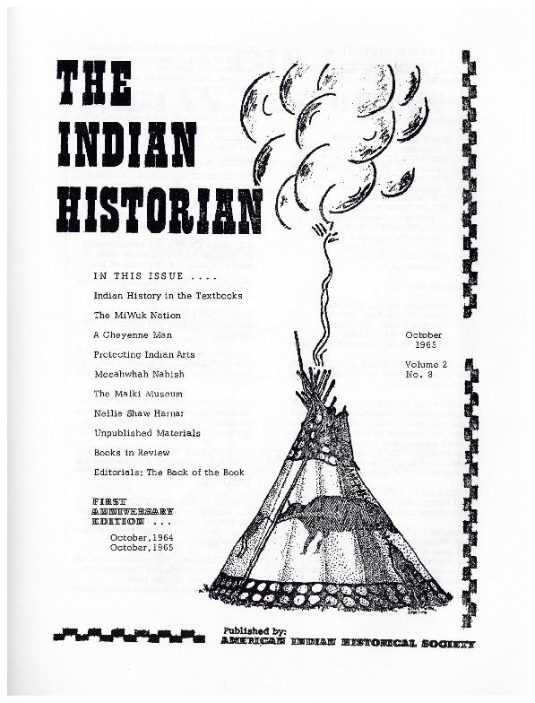 The Indian Historian, Oct. 1965, V2, N8.pdf
