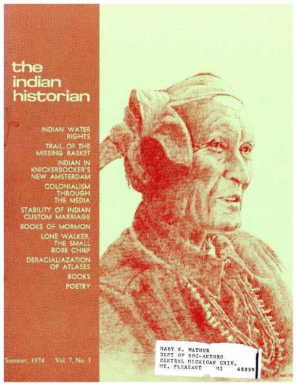 The Indian Historian, Summer 1974, V7, N3.pdf