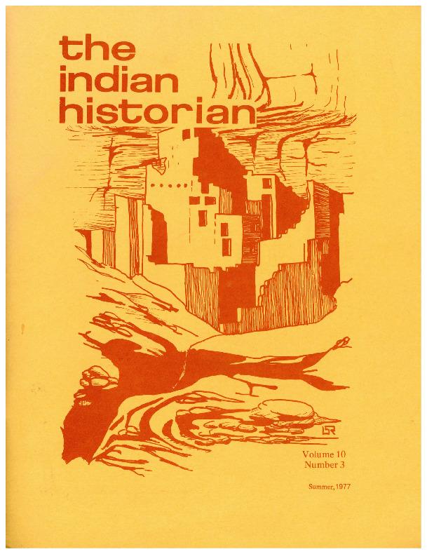 The Indian Historian, Summer 1977, V10, N3.pdf