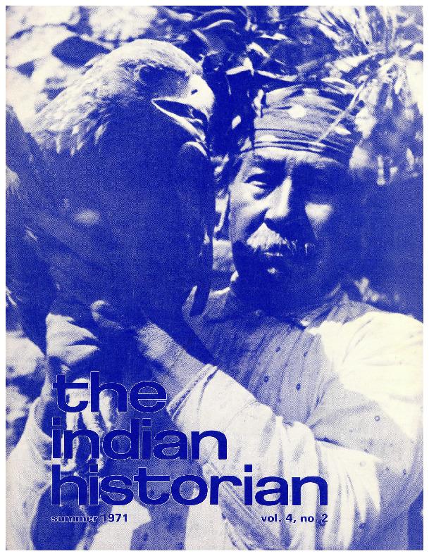 The Indian Historian, Summer 1971, V4, N2.pdf