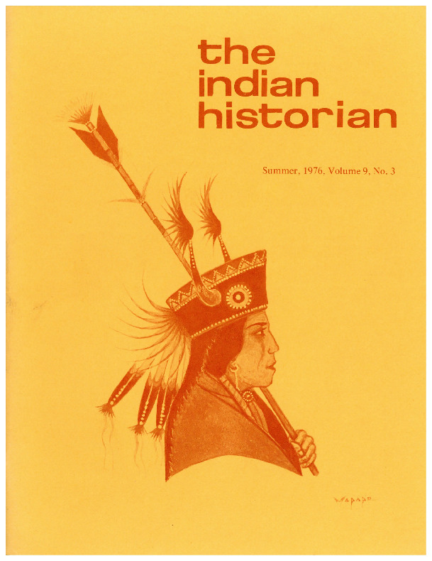 The Indian Historian, Summer 1976, V9, N3.pdf