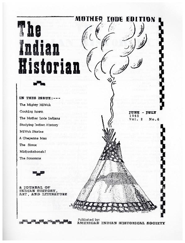The Indian Historian, June-July 1965, V2, N6.pdf