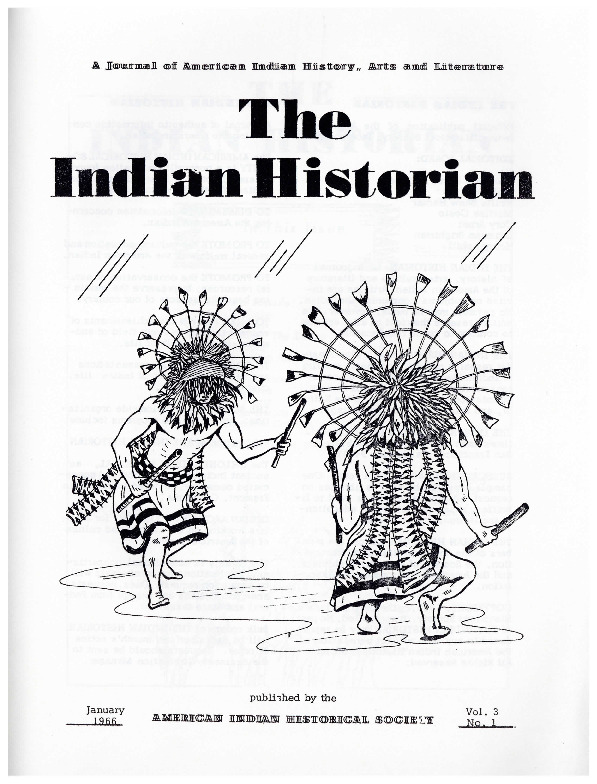 The Indian Historian, Jan 1966, V3, N1.pdf