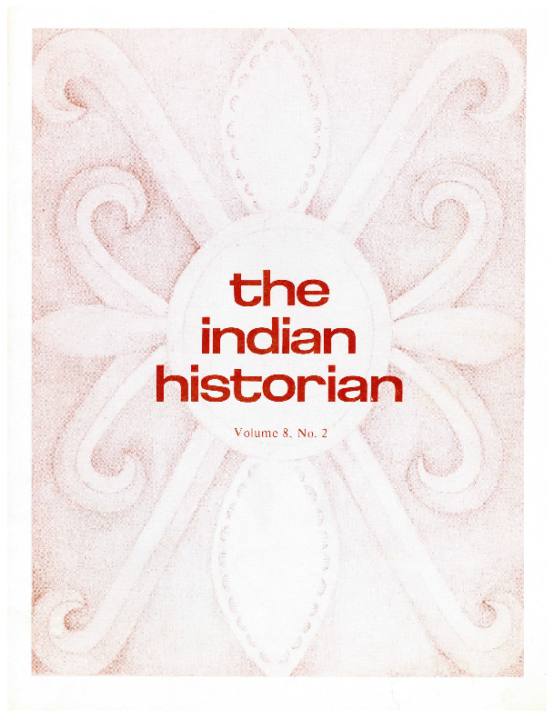The Indian Historian, Fall 1975, V8, N2.pdf