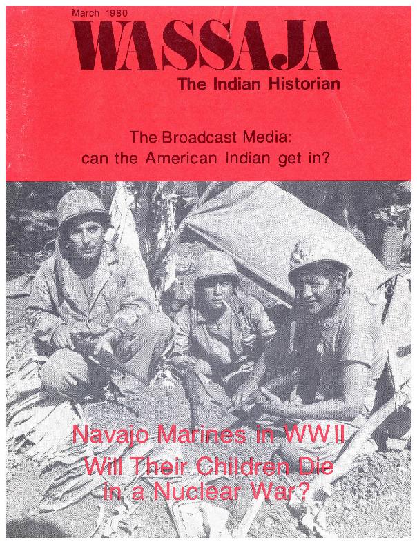 Wassaja The Indian Historian, March 1980, V13, N1.pdf