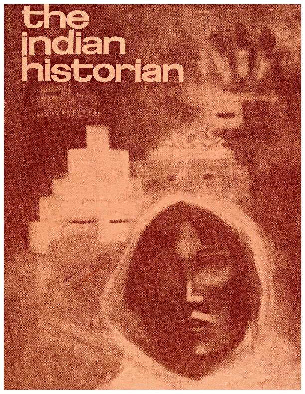 The Indian Historian, December 1967, V1, N1.pdf