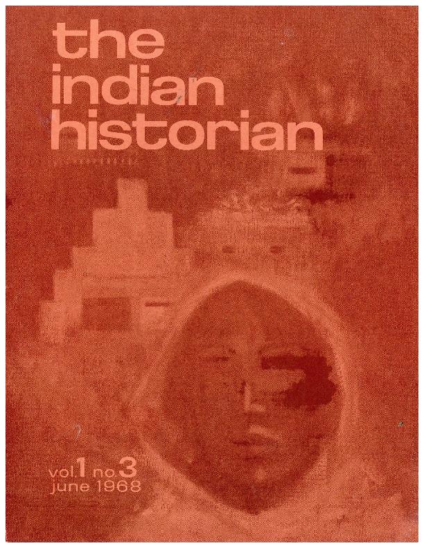 The Indian Historian, June 1968, V1, N3 (incomplete).pdf