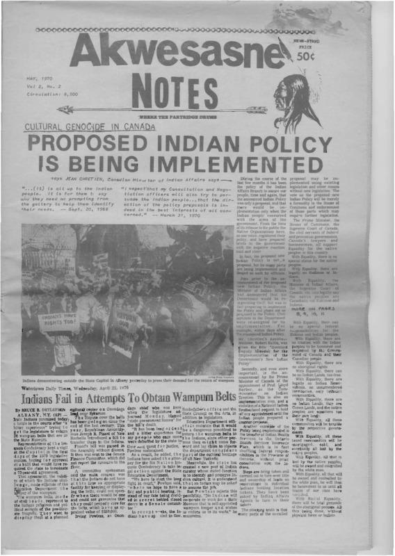 Akwesasne 1970 Volume 2 Number 2.pdf